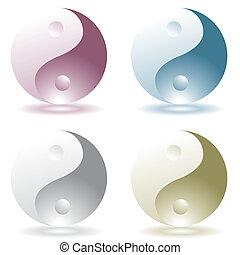 ying yang four