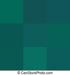 Blue green pixelated background