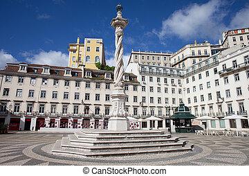 Praca do Municipio in Lisbon - Municipal Square (Portuguese:...