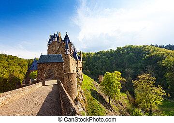 Gates of Eltz castle, Germany Mayen-Koblenz