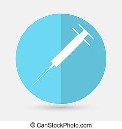 medicine icon on a white background - medicine icon