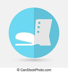 Vector illustration of modern icon on a white background -...