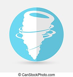 wind icon  on a white background - wind icon vector