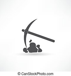 pick tool vector illustration
