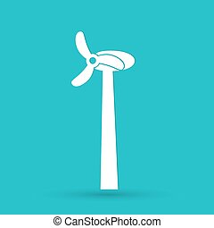 Wind Turbine, vector