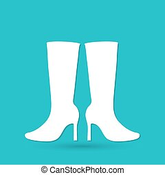 Women Boots Icon