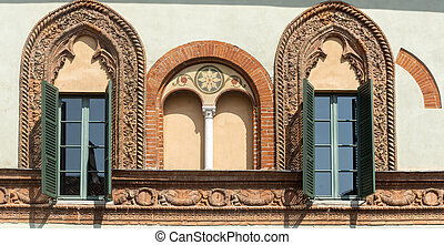 Soncino Cremona, Italy - Soncino Cremona, Lombardy, Italy:...
