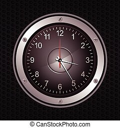 Clock in a speaker