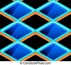 Seamless cells pattern