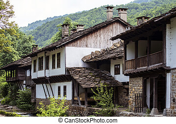 Traditional houses froom east Europ - traditioonal hoouse...