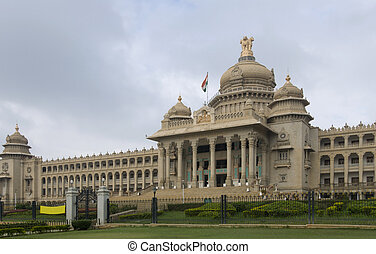 Bangalore - Vidhana Souda, Bangalore houses the legislature...