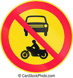 No Motor Vehicles in Finland