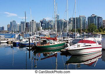 Boats & Marina Vancouver BC.