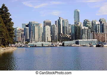 High rise residential apartments, Stanley Park - High Rises,...