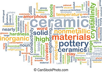 Ceramic background concept - Background concept wordcloud...