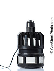 electric mosquito trap with a UV attractor lamp