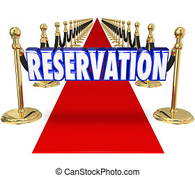 Reservation Red Carpet Exclusive Restaurant Club Access...
