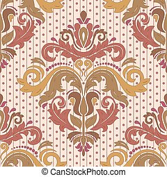 Seamless Orient Vector Background - Oriental vector fine...