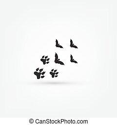 trace bat icon