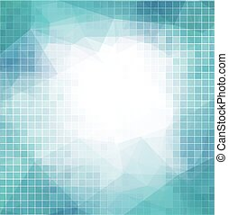 Vector abstract background with squares for business