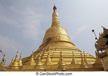 Bago - Shwemawdaw Paya, Bago, Myanmar. Shwemawdaw Paya is a...