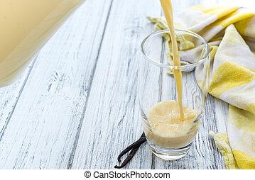 Vanilla Milk (Homemade) - Portion of homemade Vanilla Milk...