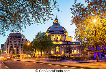 Methodist Central Hall, Westminster - London, England
