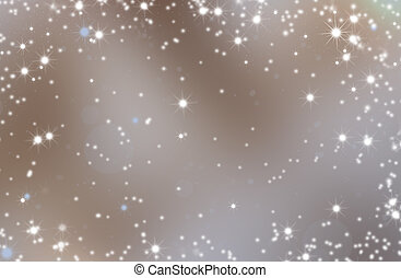 Christmas night Background. Abstract defocused Background...