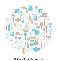 Dining icons