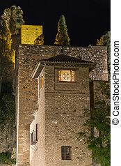 Alcazaba fortress Malaga - Alcazaba moorish fortress in...