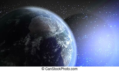 Planet Earth - Very realistic planet earth made with real...