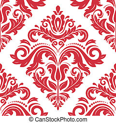 Seamless Orient Background - Pattern in the style of...