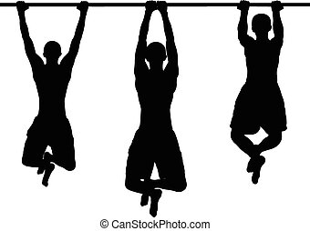 street workout - vector - illustration of street workout -...