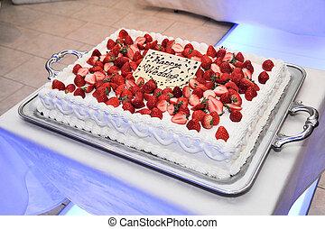 boda, pastel,