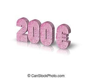 200, euro,
