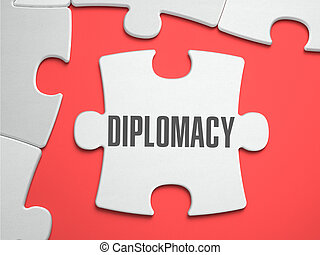Diplomacy - Puzzle on the Place of Missing Pieces. -...