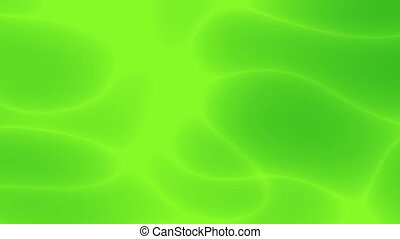 Abstract background -green - This is a 3D render