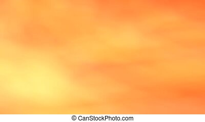 Abstract background - Orange - The animation is very soft.