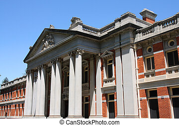 Supreme Court of Western Australia in Perth. Old building.