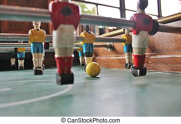 Soccer Brazil shirts Tabletop Foosball football in team...