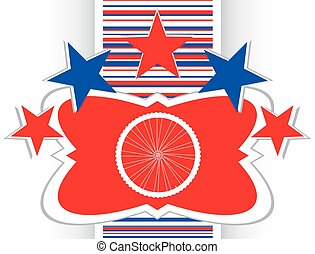 bike wheels glossy web icon button vector