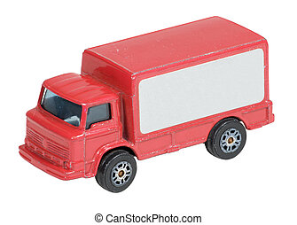 entrega, camión