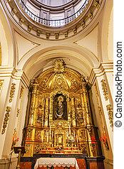 Basilica Dome Mary Baby Statue Santa Iglesia Collegiata de...