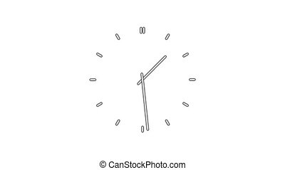 ClockN8-05-wc - Clock time lapse full HD 1920x1080 28s 25Fps...