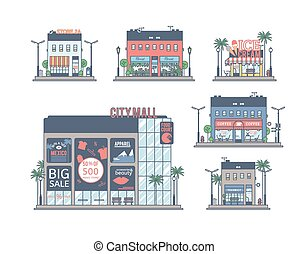The set of stores.