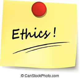 ethics sign