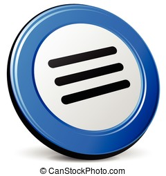 expand icon - illustration of expand 3d blue design icon