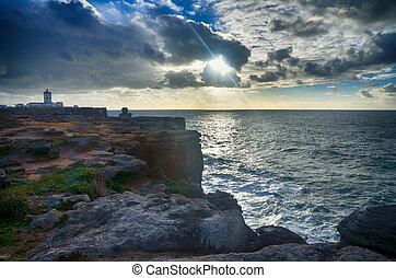 Peniche, Cabo Carvoeiro, Portugal - Portuguese destination,...