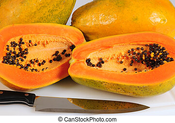Papaya - Tropical fruit