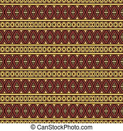 Abstract vector tribal ethnic seamless pattern - Abstract...